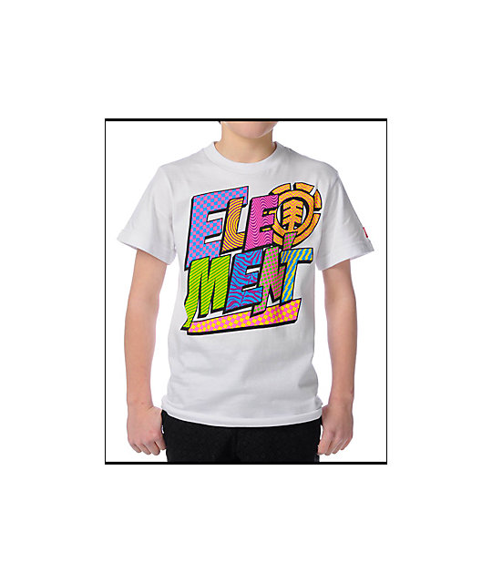 Element Boys Brightspot White T-Shirt