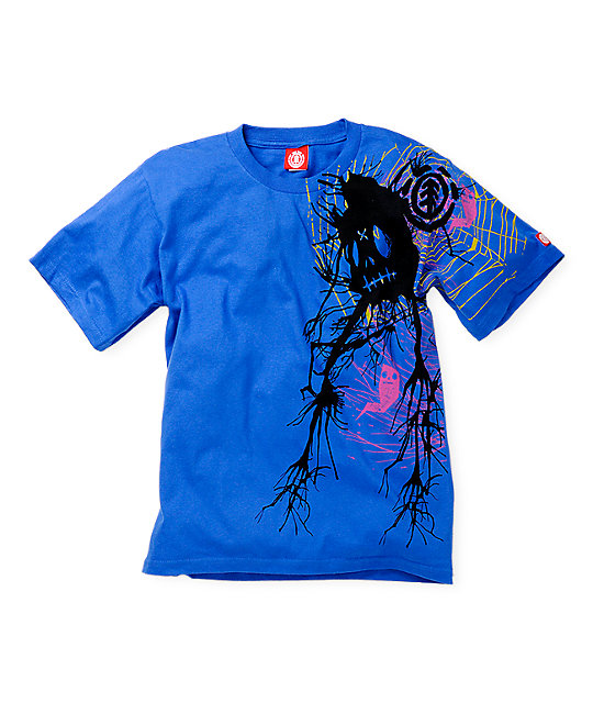 Element Boys Creepo Turquoise T-Shirt