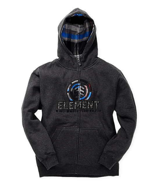 Element Boys Everett Grey Hoodie
