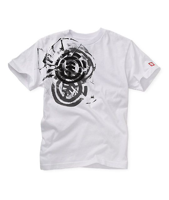 Element Boys Head On White T-Shirt