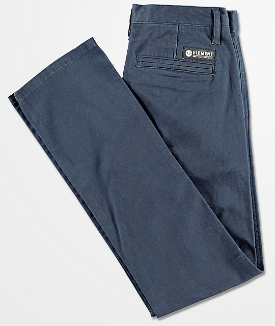 Element Boys Howland Classic Navy Pants