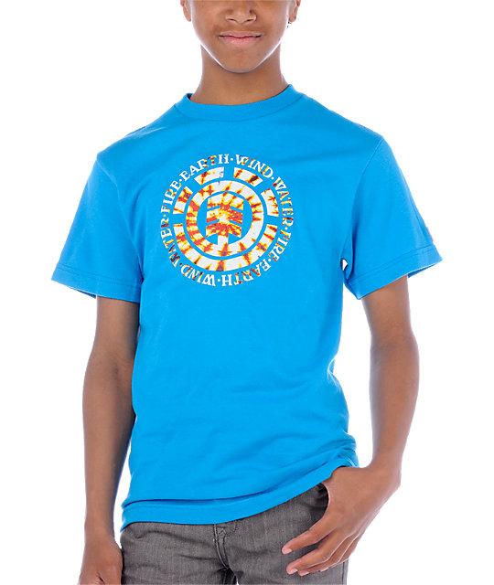 Element Boys Jerry Cyan T-Shirt