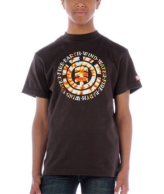 Element Boys Jerry Espresso T-Shirt