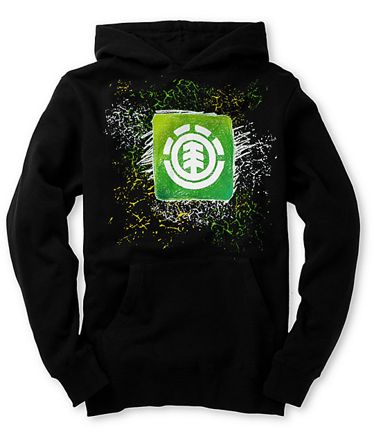 Element Boys Kingston Black Hoodie