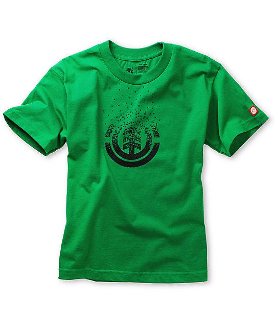 Element Boys Scatter Kelly Green T-Shirt