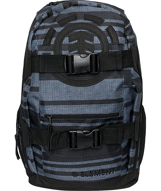 Element Breckinridge Black & Grey Skate Backpack