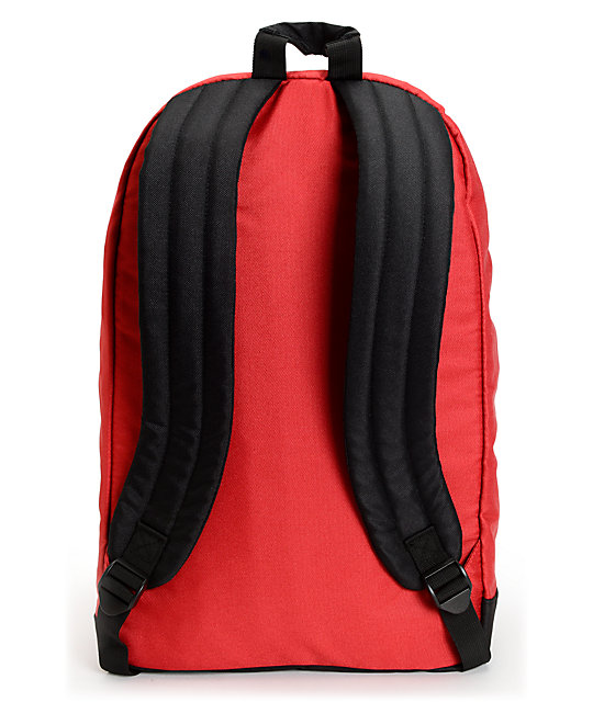 Element Cammie Red Backpack