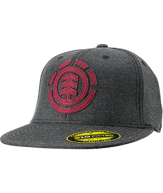 Element Carter Charcoal Grey Fitted Hat