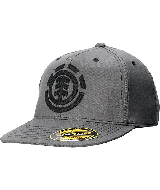 Element Carter Grey 210 Flexfit Fitted Hat