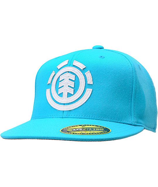 20b02edba76a4 ... 210 Flexfit Hats  Element Carter Turquoise 210 Flexfit Fitted Hat