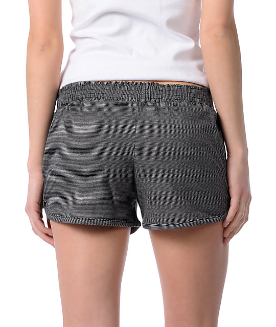 Element Celeste Black Stripe Jersey Shorts
