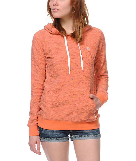 Element Colbie 2 Coral Pullover Hoodie