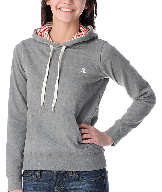 Element Colbie Grey Pullover Hoodie