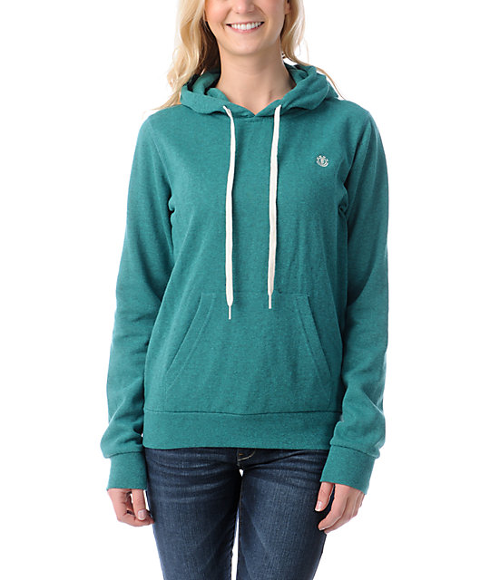 Element Colbie Kelly Heather Green Pullover Hoodie