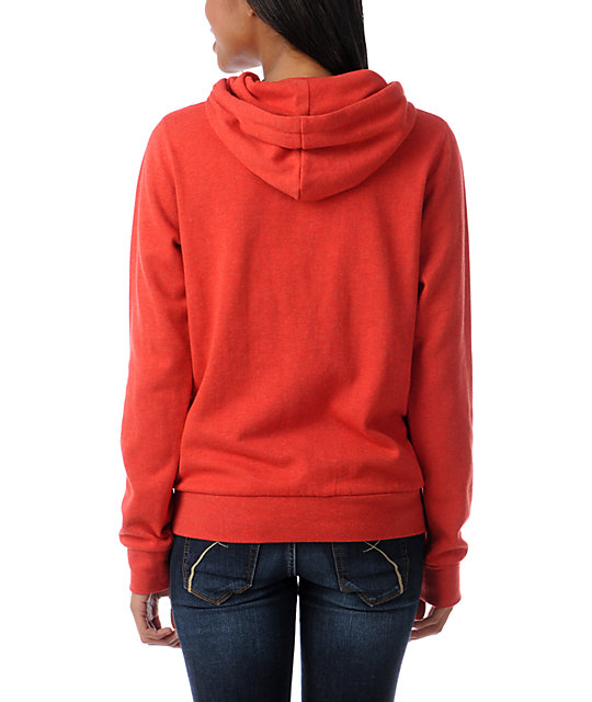 Element Colbie Tomato Red Pullover Hoodie