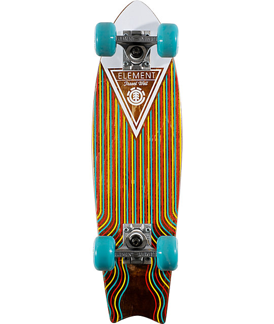 "Element Delphi Swallow Blue 23.5""  Cruiser Complete Skateboard"