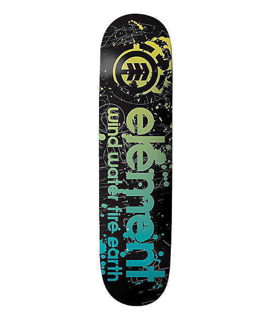 "Element Droplets 7.5""  Skateboard Deck"