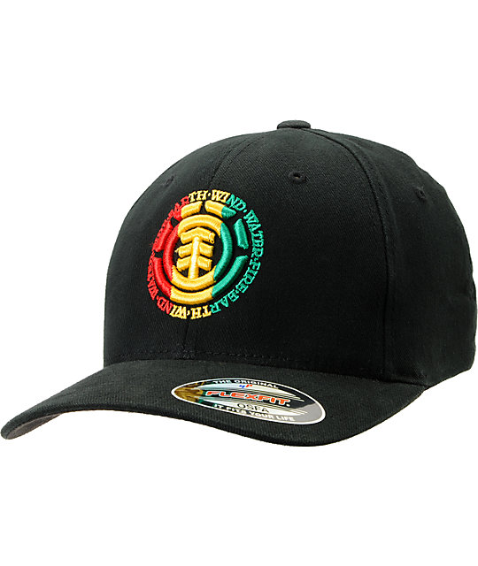 Element Elemental Rasta Flexfit Hat