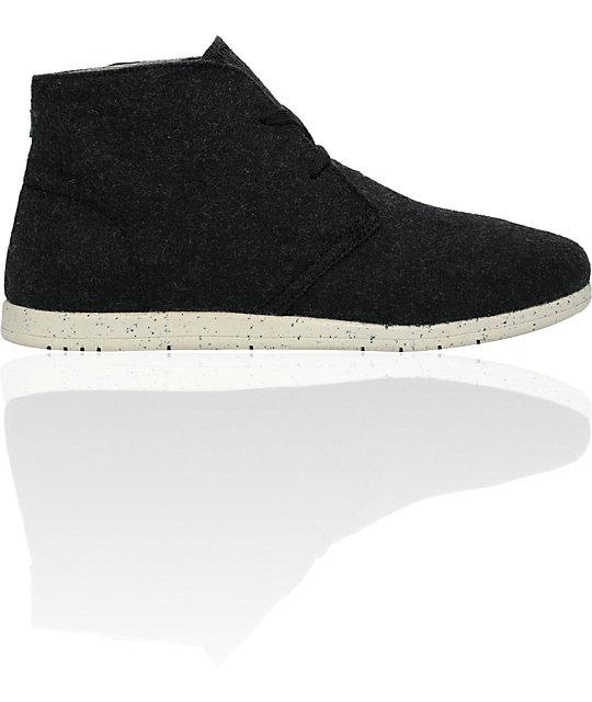 Element Emerald Prescott Black Wool Boot