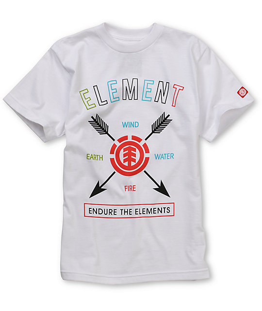 Element Endurance Boys Skate T-Shirt