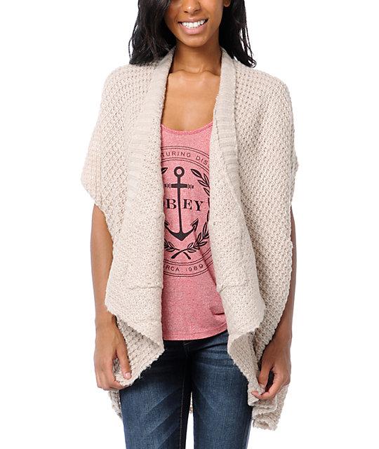 Element Estonia Dust Cardigan Wrap Sweater