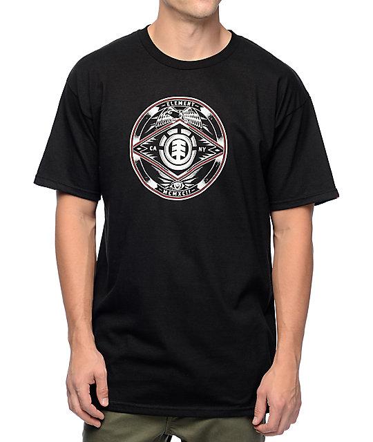 Element Etch Black T-Shirt