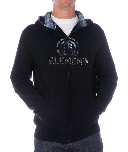 Element Everett Black Hoodie