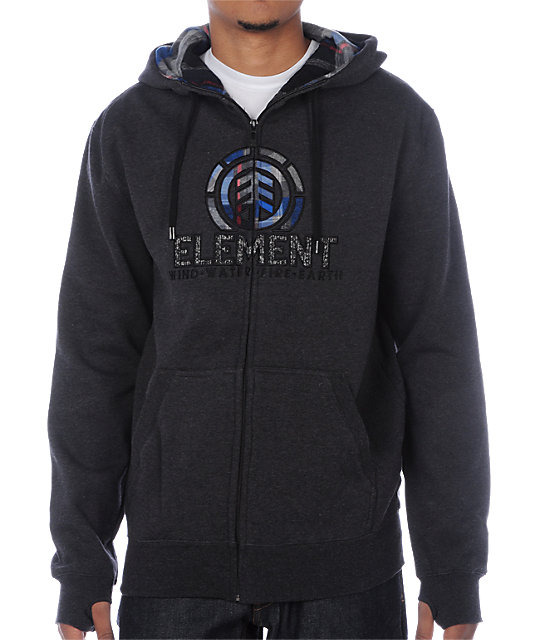 Element Everett Charcoal Hoodie