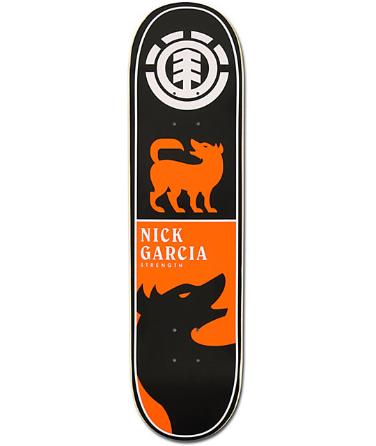 "Element Garcia Chromatic 8.0""  Skateboard Deck"