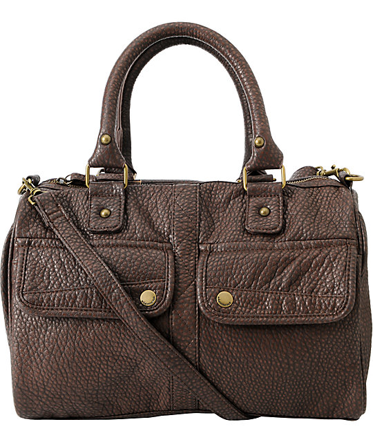 Element Girls Echo Chocolate Brown Shoulder Bag
