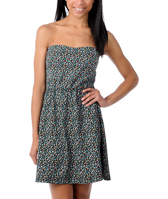 Element Hazel Floral Tube Dress