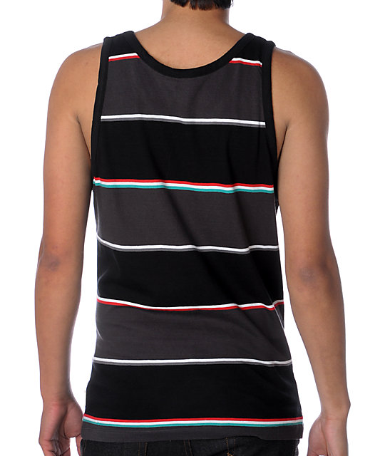 Element Intrants Black & Red Tank Top