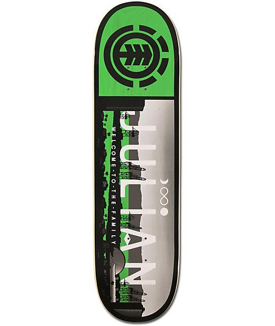 "Element Julian Davidson Welcome 8.25""  Skateboard Deck"