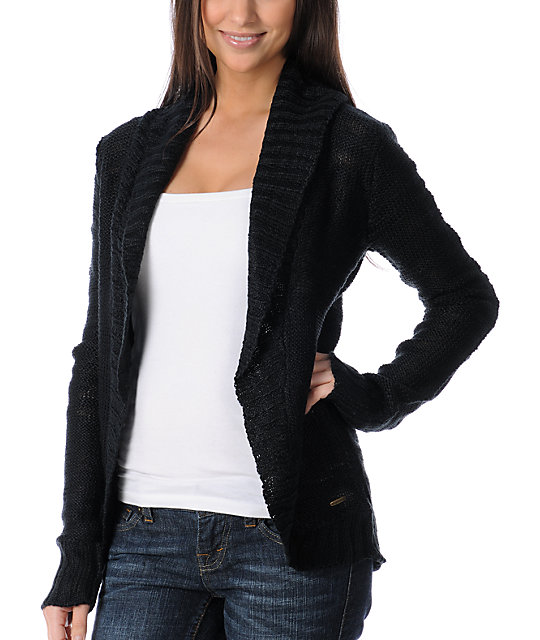 Element Kindra Open Cardigan Sweater