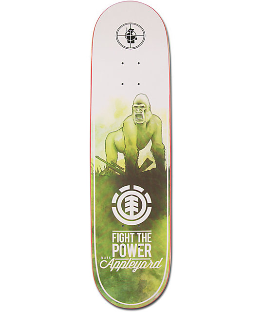 "Element Mark Appleyard Fight The Power 8.125""  Skateboard Deck"