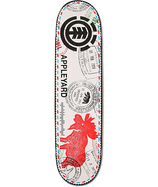 "Element Mark Appleyard Postal Service 8.125""  Skateboard Deck"