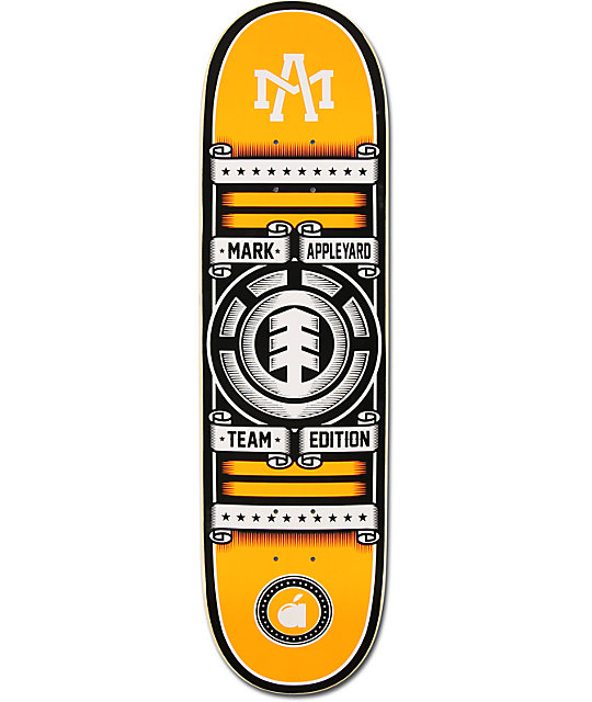 "Element Mark Appleyard Rollin 8.25""  Skateboard Deck"