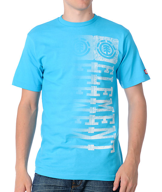 Element Metal Turquoise T-Shirt