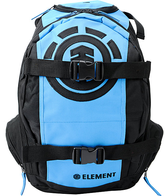 Element Mohave Black & Blue Skate Backpack