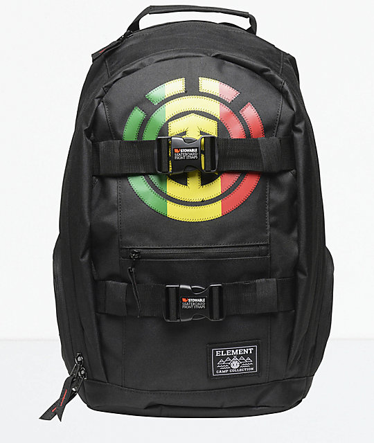 Element Mohave Black Rasta 30L Backpack