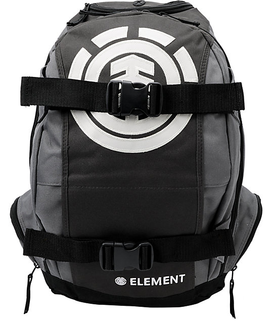 Element Mohave Charcoal Skate Backpack
