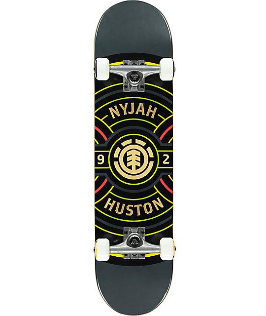 """Element Nyjah Bullseye 7.75"""" Skateboard Complete"""