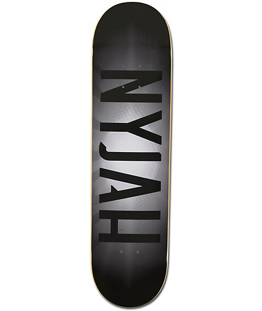 "Element Nyjah Fade To Black 8.0""  Skateboard Deck"