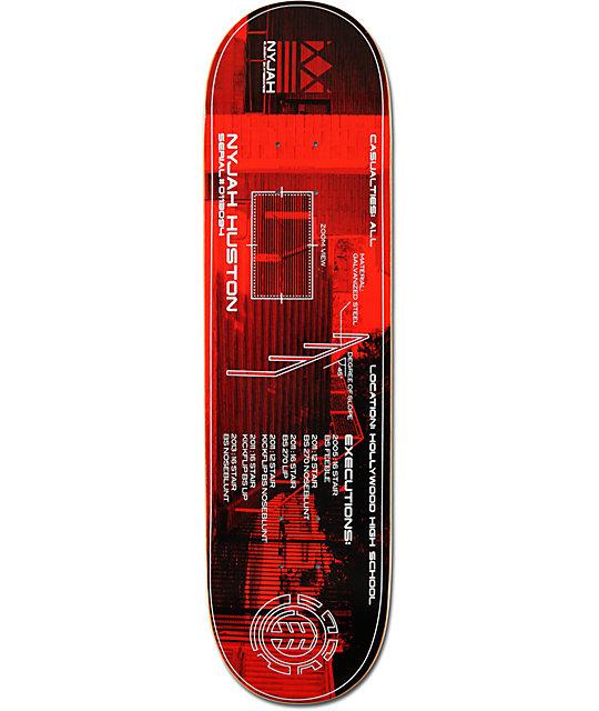 "Element Nyjah Huston Hollywood 8.2""  Skateboard Deck"