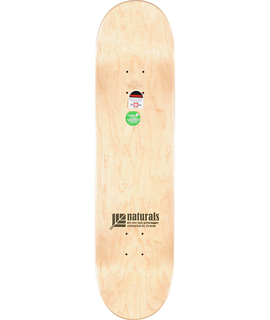 "Element Nyjah Huston Icon 8.0""  Skateboard Deck"
