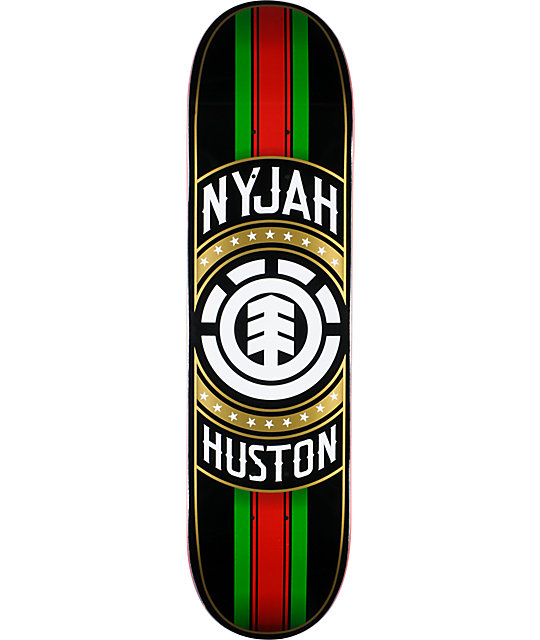 "Element Nyjah Huston Tastemaker 8.0""  Skateboard Deck"