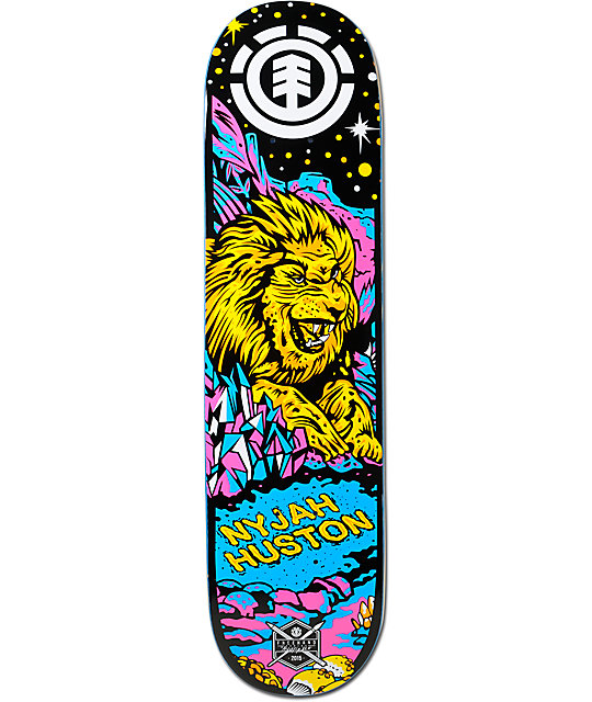 Element Nyjah Neon Night 7.75