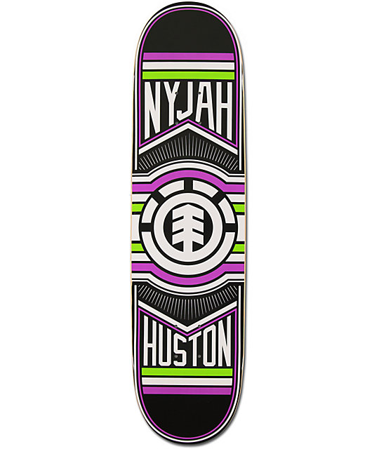 "Element Nyjah Ride 8.125""  Skateboard Deck"