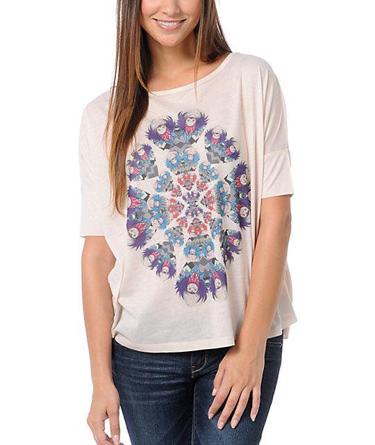 Element Oracle Cream Scoop Neck T-Shirt