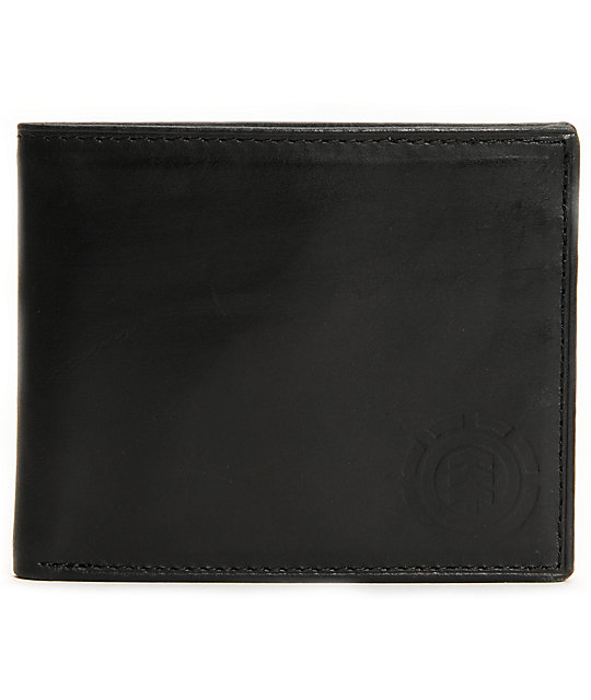Element Ralston Black Bifold Wallet